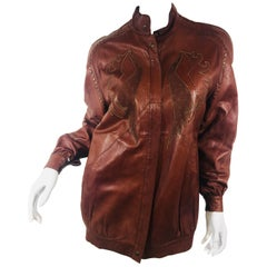 Vintage Roberto Cavalli Leather Jacket