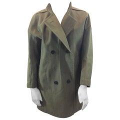 Jil Sander Olive Coat