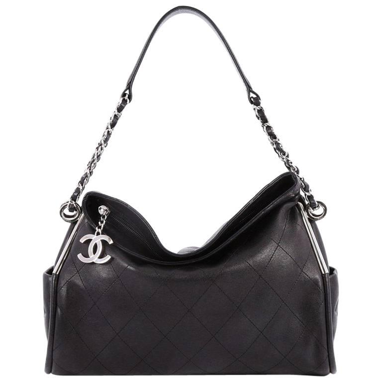 9b04b8770a5e HomeFashionHandbags and PursesShoulder Bags. Chanel Ultimate Soft Hobo  Quilted Leather Medium For Sale