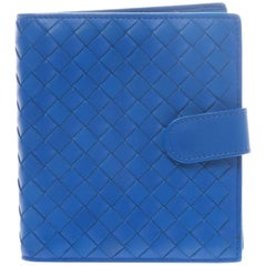 Bottega Veneta Atlantic Intrecciato Bi-Fold with Zip Coin Section