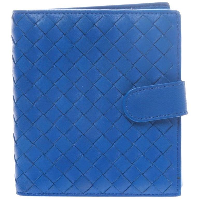 Bottega Veneta Atlantic Intrecciato Bi-Fold with Zip Coin Section