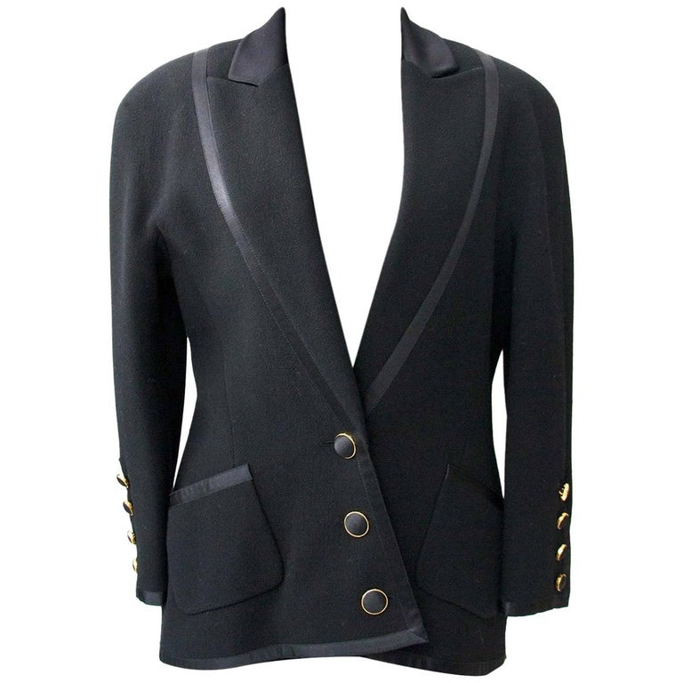 Chanel Black Tailleur Set