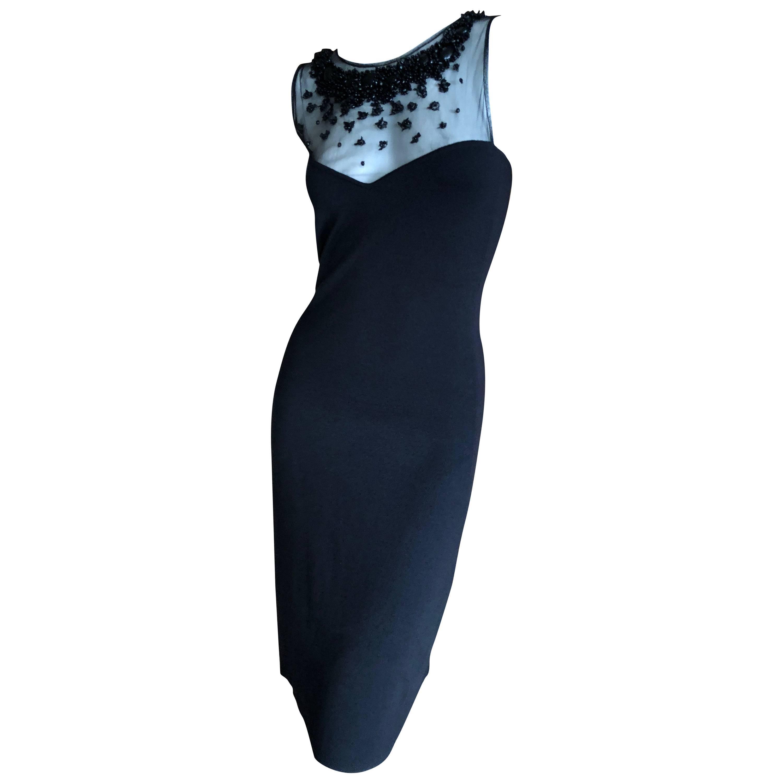 Classic Little Black Cocktail Dress