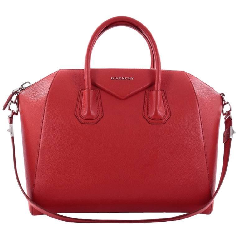 Givenchy Antigona Bag Leather Medium For