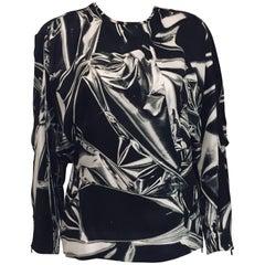 Sensational Stella McCartney Black & White Top with Dolman Sleeves
