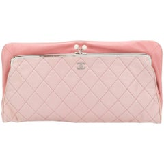 Chanel Vintage Quilted Clutch Bag