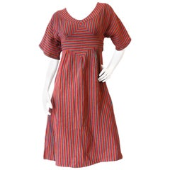 Rikma Rainbow Stripe Dress, 1970s