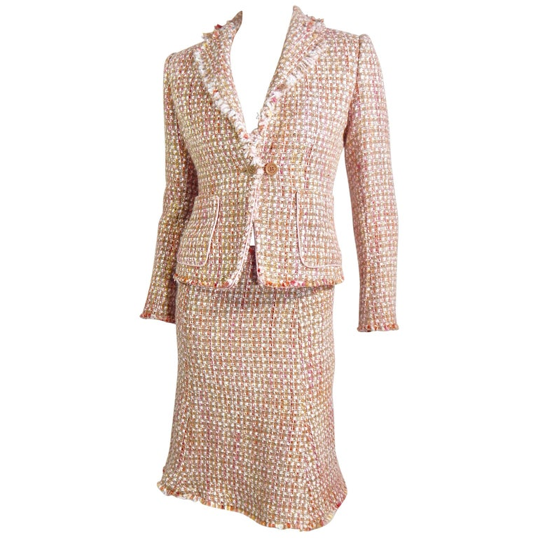 Anne Klein Tweed Suit