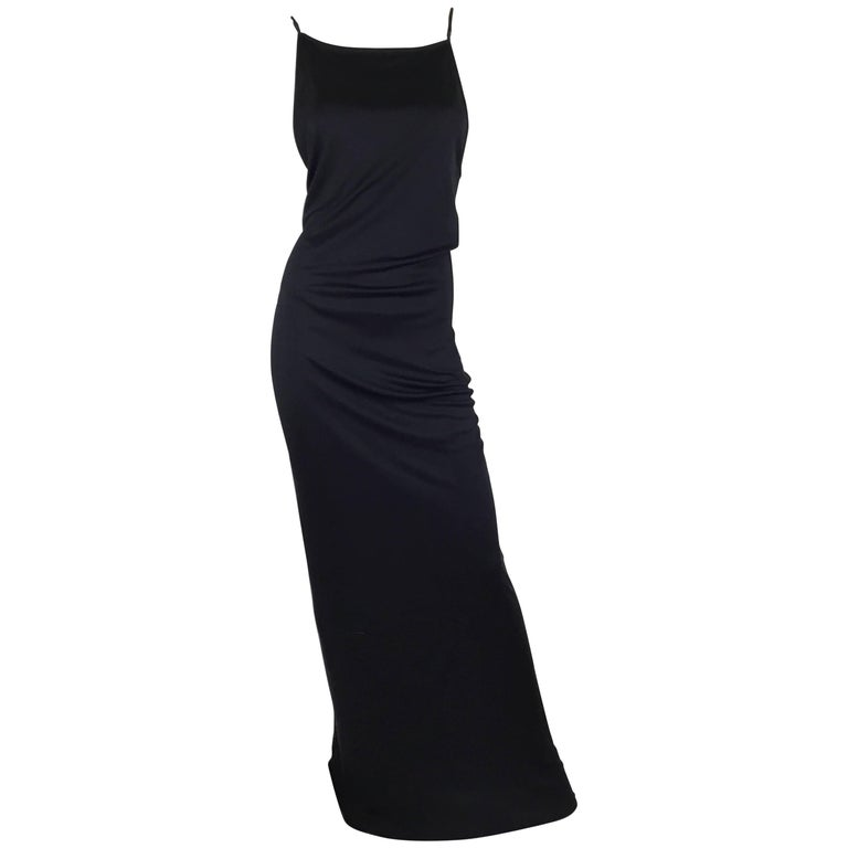 adf6a5197 Gucci Silk Jersey Maxi Slip Dress For Sale at 1stdibs