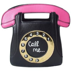 Super Cute Handbag Shoulder Bag Pin Up Retro Vintage Style Phone Call Me