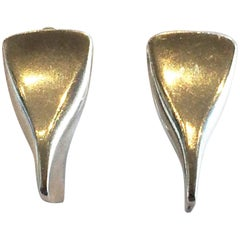 Georg Jensen Earrings Design no. 116B Screw fitting