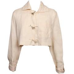 JC de Castelbajac Cropped Jacket