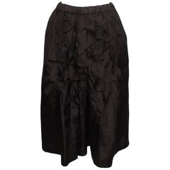 Comme des Garcons Robe de Chambre Skirt With Front Scallop Detail