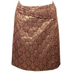 Prada Lame' 1960's Style Skirt