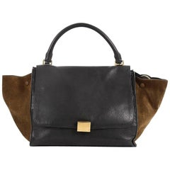 Celine Bicolor Trapeze Leather Medium