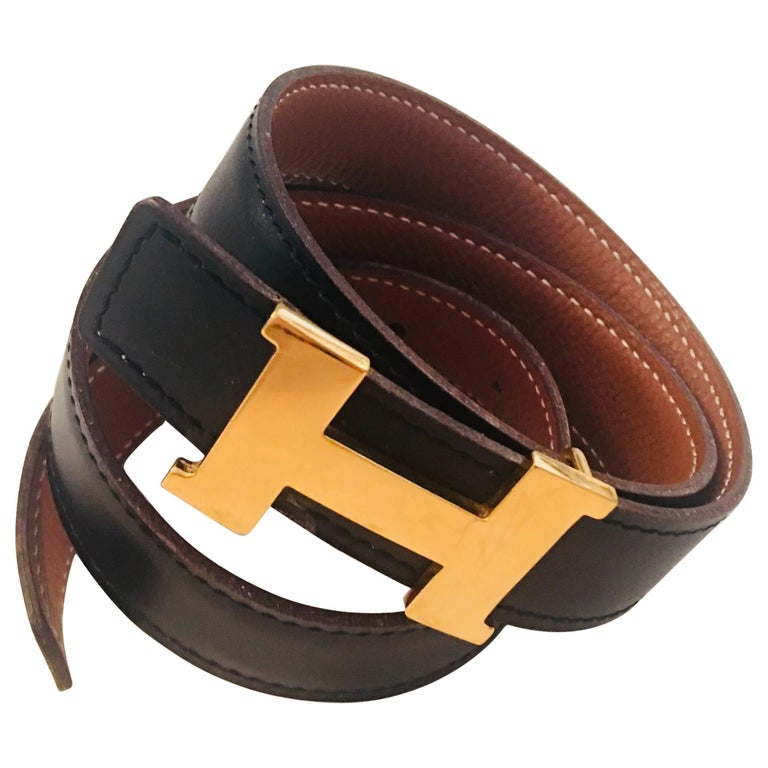 Hermes Reversible Belt