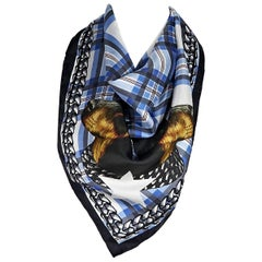 Multicolor Givenchy Printed Silk Scarf