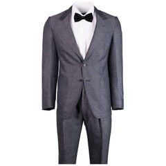 Tom Ford Grey Wool Blend Salt Pepper Texture Shelton Suit