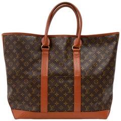 Vintage Louis Vuitton Sac Weekend GM Monogram Canvas XLarge Tote Bag