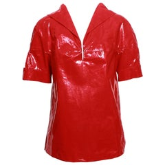 Prada Waterproof Red Top