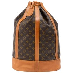 Vintage Louis Vuitton Randonee GM Monogram Canvas Shoulder Bag