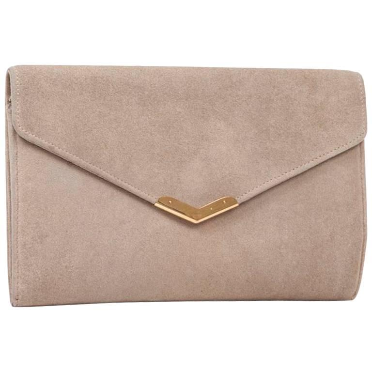 1stdibs Tanya Hawkes Cream And Gold Box Clutch 57OHAI