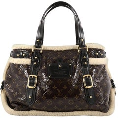 Louis Vuitton Thunder Handbag Limited Edition Monogram and Shearling
