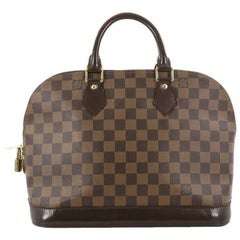 Louis Vuitton Vintage Alma Handbag Damier PM