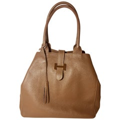 H Bag Double Hand Tote