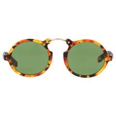 GIORGIO ARMANI c.1990's Round Tortoiseshell Frame Sunglasses 617-S 069 RARE