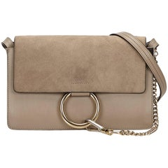 Chloe  Beige Small Faye Bag