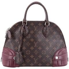 Louis Vuitton Alma Handbag Monogram Shine Canvas PM