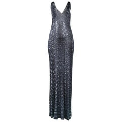 Maison Martin Margiela Iconic Sequin Print Dress 1996