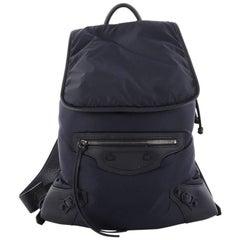 Balenciaga Classic Traveller Backpack Nylon with Leather