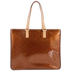 Louis Vuitton Columbus Handbag Monogram Vernis