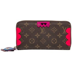 LOUIS VUITTON 'Zippy' Wallet Limited Edition in Brown Monogram Canvas