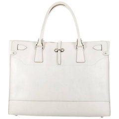 Salvatore Ferragamo Briana Tote Leather Large