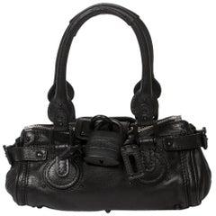 Chloe Paddington in Black calf leather