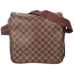 Louis Vuitton Brown Damier Ebene Canvas Naviglio Messenger Bag