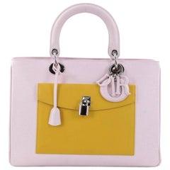 Christian Dior Diorissimo Pocket Tote Leather Medium