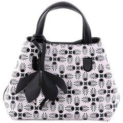 Christian Dior Blossom Handbag Printed Leather Medium