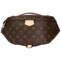 2018 Louis Vuitton Brown Monogram Coated Canvas Bumbag