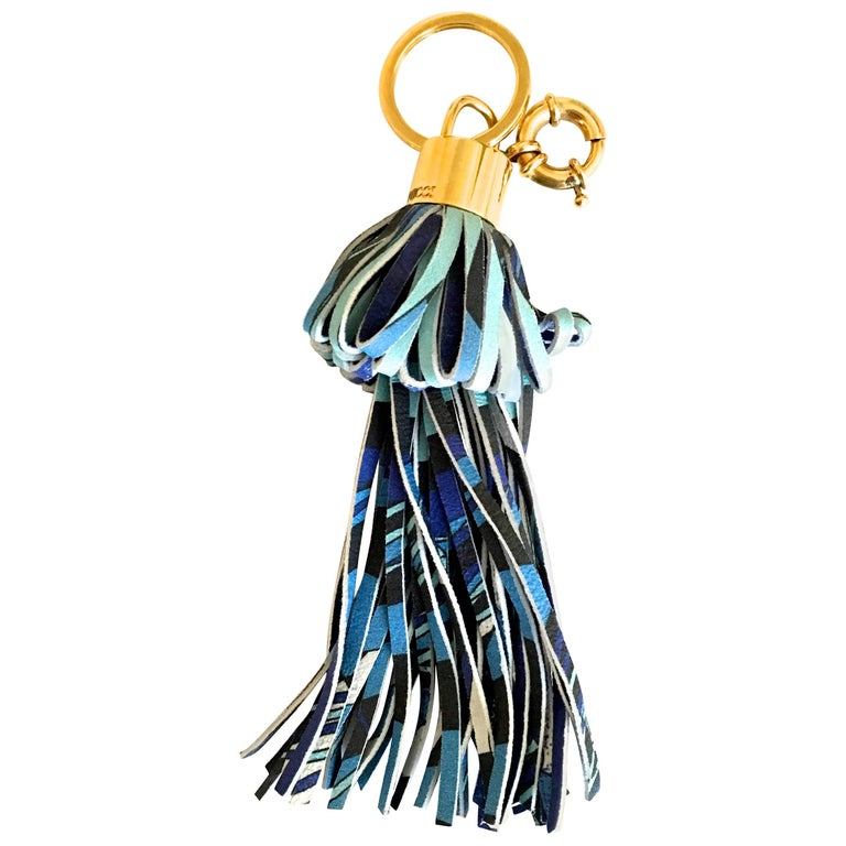 Emilio Pucci Bag Charm / Keychain - Rare