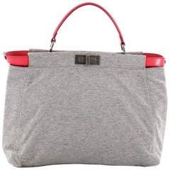 Fendi Peekaboo Handbag Jersey Regular
