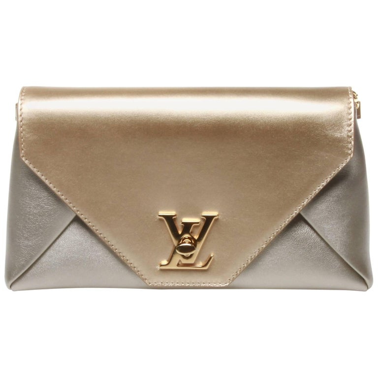 Louis Vuitton Love Note Autres Cuirs Clutch Evening Bag