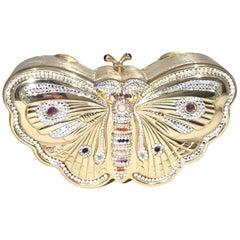 Judith Leiber Butterfly Minaudiere Clutch