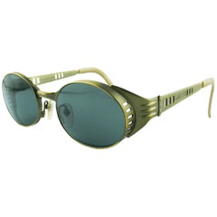 Jean Paul Gaultier Vintage Steampunk Sunglasses Model 56-6102
