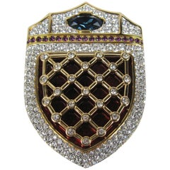 "1993 Swarovski ""Jeweler's Collection"" Limited Edition Brooch Never Worn"