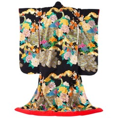 Japanese Peacock Kimono