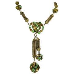 Czech Vintage Necklace, 1930s